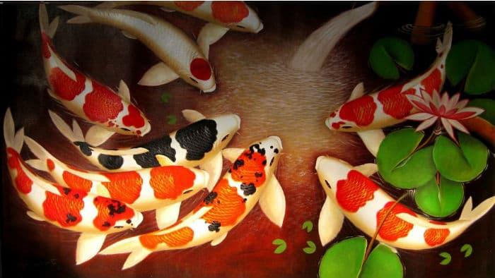 Растения и рыбки для искусственного водоема
