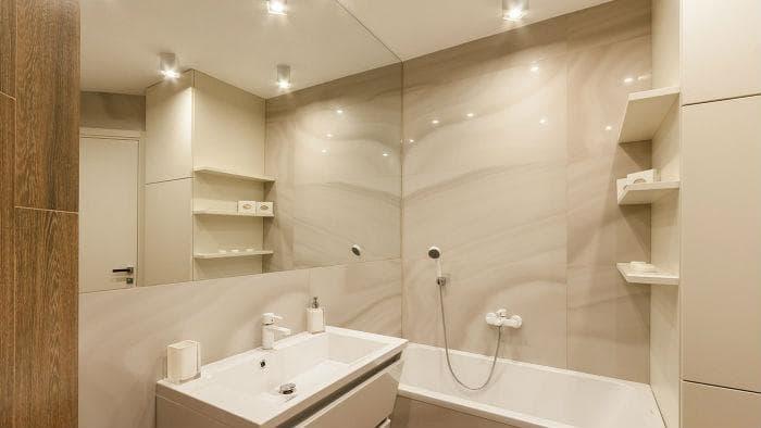 13 способов как увеличить ванную комнату